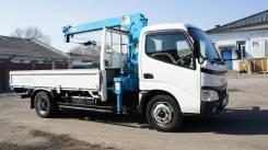 Hino Dutro. Продам грузовик с манипулятором, 4 900куб. см., 3 000кг., 4x2