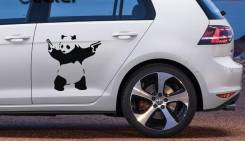 Наклейка. Fiat Panda