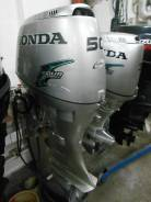 Honda. 50,00л.с., 4х тактный, бензин, нога L (508 мм), Год: 2005 год