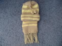 Шапка и шарф. 54, 55, 56, 57, 58, 55-59