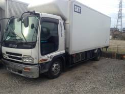Кабина. Isuzu Forward, FRD35 Двигатель 6HL1