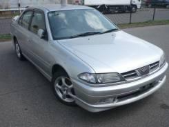 Губа передняя на Тойота-Карина 1998-2001г. кузов АТ-210. Toyota Carina