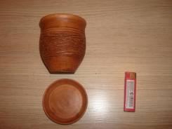 Кашпо ручная работа керамика