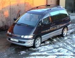 Обвес кузова аэродинамический. Toyota Estima