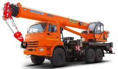 Галичанин КС-55713. КС 55713-5В автокран 25т. (Камаз-43118), 25 000 кг.