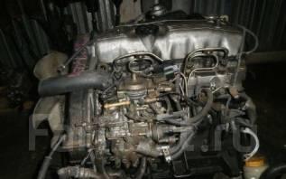 Двигатель в сборе. Mitsubishi Delica Двигатель 4D56T