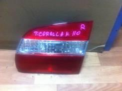 Вставка багажника. Toyota Corolla, AE110