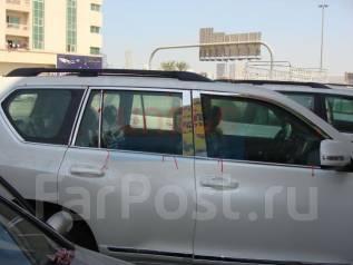 Молдинг стекла. Toyota Land Cruiser Prado