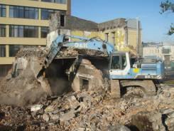 Демонтажные работы. Снос зданий