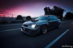 Обвес кузова аэродинамический. Subaru Impreza WRX STI, GD, GDB