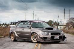 Обвес кузова аэродинамический. Subaru Impreza WRX, GDB, GDA Subaru Impreza WRX STI, GDB. Под заказ