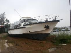 """Катер Адмиральский 2 Ранга """" Соколенок"""". Год: 1994 год, длина 12,50м., двигатель стационарный, 157,00л.с., дизель"""