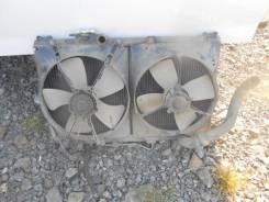 Радиатор охлаждения двигателя. Toyota Camry, 30 Двигатели: 4SFE, 4SFI, 4S