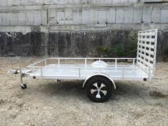 DVRV UT5X10. Алюминиевый прицеп к легковому автомобилю 3,03х1,52 м., 600кг.