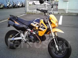 Kawasaki KSR110. 110куб. см., исправен, птс, без пробега