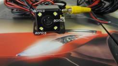 Универсальная Цветная камера заднего хода с Разметкой. Подсветкой Новая