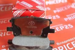 Колодки тормозные Toyota PF-1498 зад