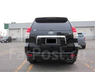 Накладка на бампер. Toyota Land Cruiser Prado, GRJ151, GRJ150L, GRJ151W, GRJ150, GRJ150W, TRJ150W, TRJ150