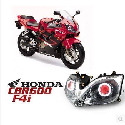 фары ксенон глазки светодиод Honda Cbr600f4i мотозапчасти во
