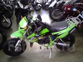 Kawasaki KSR80. 80 куб. см., исправен, птс, без пробега