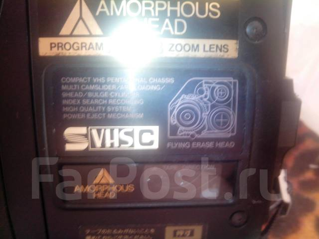 Хитачи vm -s72 видеокамера японская