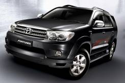 Обвес кузова аэродинамический. Toyota Fortuner, KUN60, KUN50, KUN61, TGN51L, KUN51, KUN51L, GGN50, TGN61, TGN51, GGN60, LAN50, KUN60L Двигатели: 1KDFT...