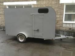 DVRV UT6X12. Прицеп-фургон к легковому автомобилю 6х12