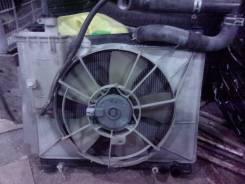 Радиатор охлаждения двигателя. Toyota Sienta, NCP81G, NCP81