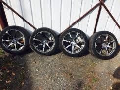 """Продам комплект колес с резиной AVS- T7. 9.0x18"""" 5x114.30"""