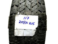Bridgestone Dueler H/T. Всесезонные, 2010 год, износ: 20%, 1 шт