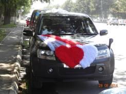 Прокат свадебного украшения на авто