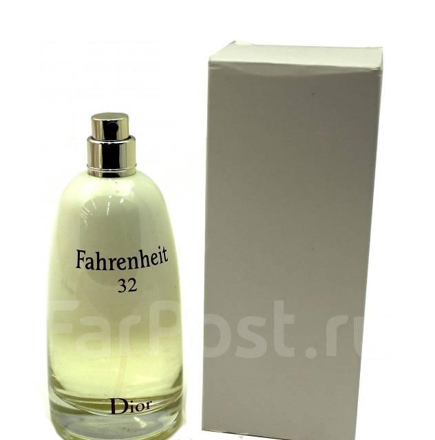 тестер Christian Dior Fahrenheit 32 100мл парфюмерия во владивостоке
