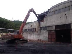 Демонтаж, снос зданий.