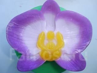 """Сувенирное-подарочное мыло ручной работы """"Орхидея"""". Под заказ"""