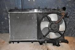 Радиатор охлаждения двигателя. Subaru Legacy Wagon, BP5 Subaru Legacy, BL5, BP5 Двигатели: EJ20, EJ20Y, EJ20X