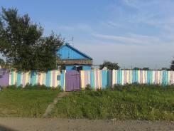 Сдается дом с большим участком в с. Новоникольск. От частного лица (собственник). Фото участка