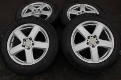 Комплект дисков Vaggio + Зимние шины 215/60/17 Bridgestone REV01,09-10. 7.0x17 5x114.30 ET53