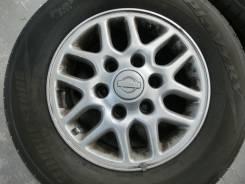 Продается комплект литых дисков Nissan Original R15 #905. 6.0x15, 6x139.70, ET35