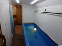 МАРЗ. Баня на колесах с бассейном, 11 150куб. см., 1 000кг., 4x2
