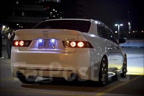 Губа. Honda Accord, CL7, CL9