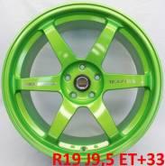 RAYS VOLK RACING. 9.5x19, 5x112.00, ET33, ЦО 66,6мм.