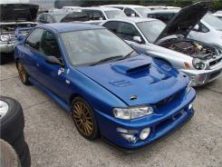 Зеркало заднего вида боковое. Subaru Impreza WRX STI, GC8