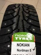 Nokian Nordman 5. Зимние, шипованные, 2017 год, без износа, 4 шт