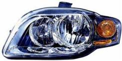 Фара. Audi A4, 8EC, 8ED, 8H7, 8HE, 8K2 Двигатели: ALT, ALZ, ASB, AUK, BBJ, BDG, BFB, BGB, BKE, BKN, BPG, BPJ, BPP, BPW, BRB, BRD, BUL, BWE, BWT