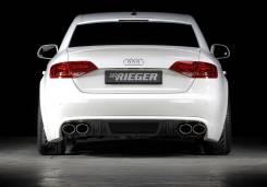 Спойлер. Audi A4, 8K5/B8, 8K2/B8