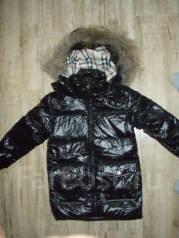 Пальто-пуховики. Рост: 110-116 см