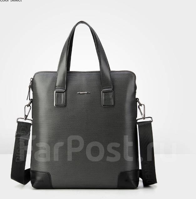 06a2c5cf5399 Кожаная сумка Bizon Denim, мужская, серая - Аксессуары и бижутерия в ...