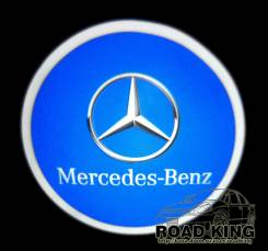 Лазерная проекция логотипа под двери авто Mercedes-Benz № 326