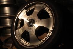 Кованые колёса Fabulous R18 8/9JJ +48/36 на шинах 225/45R18. 8.0/9.0x18 5x114.30 ET48/36 ЦО 71,3мм.