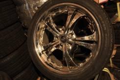 Sporsh Wheels 7.5J X 18/5-114.3+48 шина: Nankang NS-2 225/45R18. 7.5x18 5x114.30 ET48 ЦО 71,3мм.